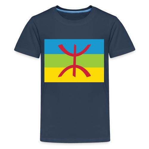 Amazigh Flag Clean - Teenager Premium T-shirt