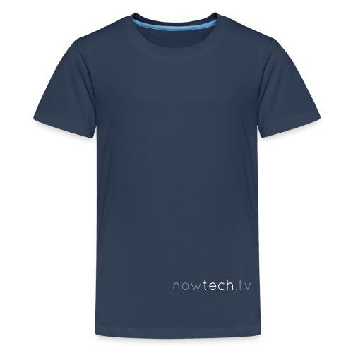 Titre nowtechTV - T-shirt Premium Ado
