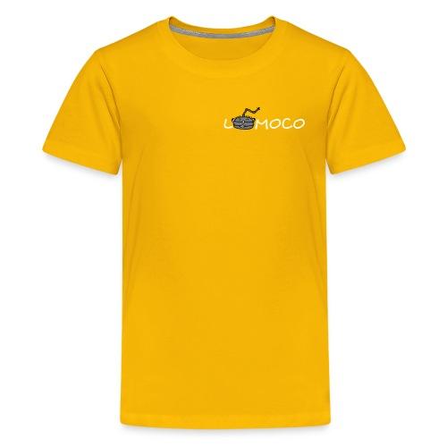 logolomoco3cweiss - Teenager Premium T-Shirt