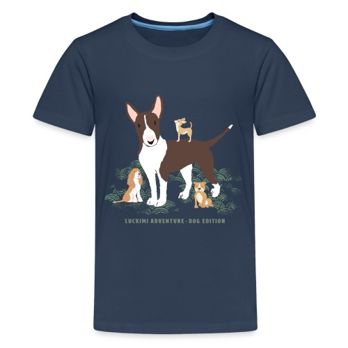 Dog edition Barn - Premium-T-shirt tonåring