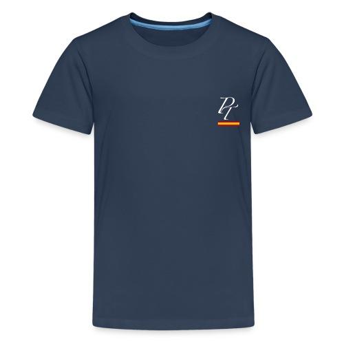 pt derecha blanco españa - Camiseta premium adolescente