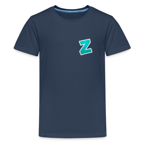Z3RVO Logo! - Teenage Premium T-Shirt