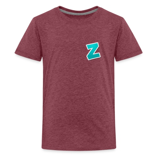 Z3RVO Logo! - Teenage Premium T-Shirt