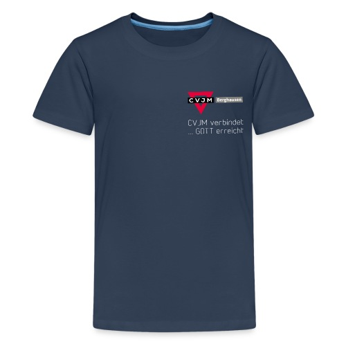 CVJM-Bgh-2019-vorne - Teenager Premium T-Shirt