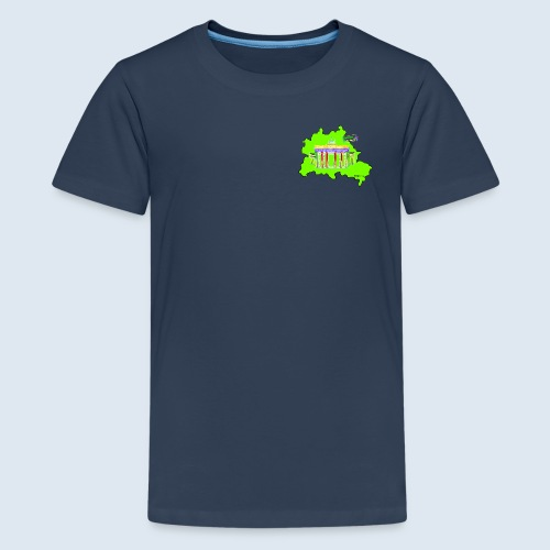 """Berliner Original """"Berlin LightShow"""" Collection - Teenager Premium T-Shirt"""