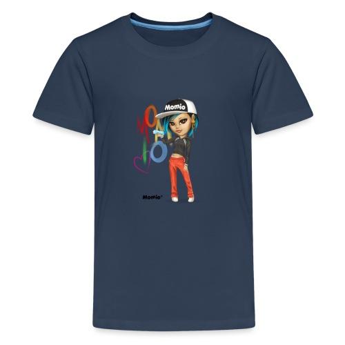 Maya - av Momio Designer Cat9999 - Premium T-skjorte for tenåringer