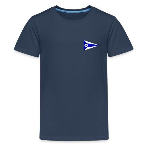 Offiziell vorne und hinten - Teenager Premium T-Shirt