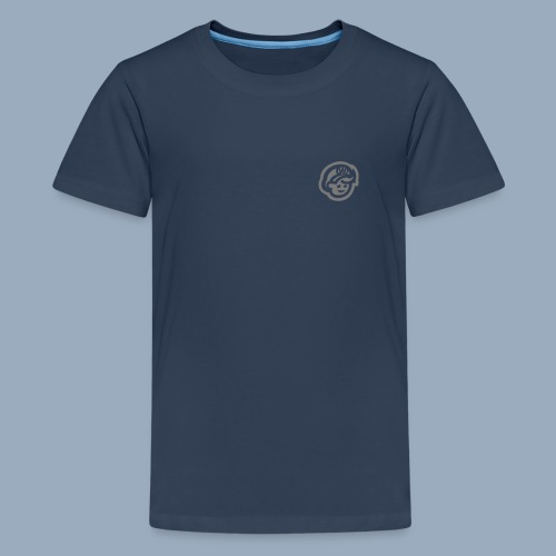 logo bb spreadshirt bb kopfonly inv - Teenager Premium T-Shirt