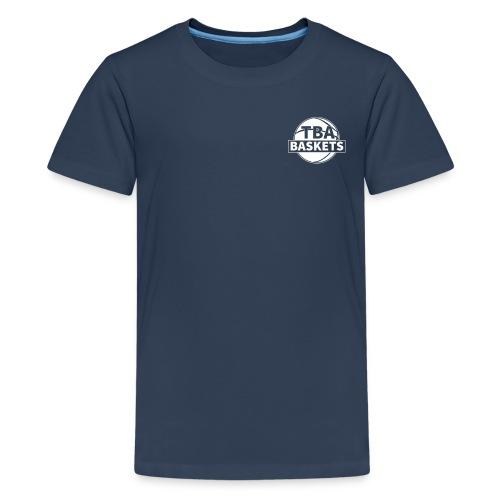 LOGO White - Teenager Premium T-Shirt