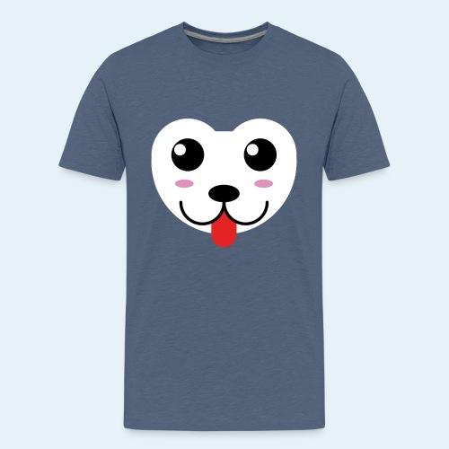 Husky perro bebé (baby husky dog) - Camiseta premium adolescente