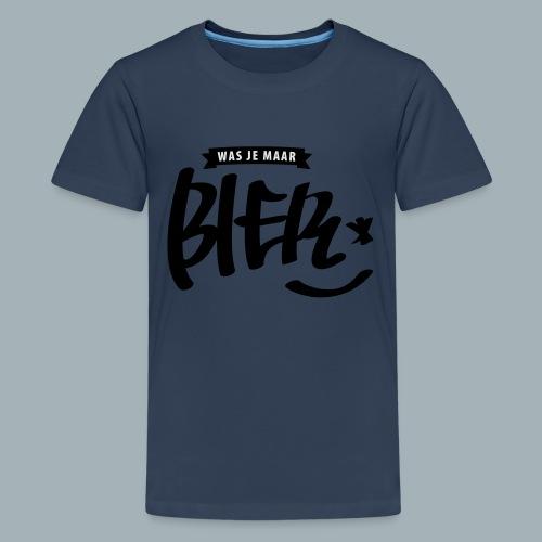 Bier Premium T-shirt - Teenager Premium T-shirt