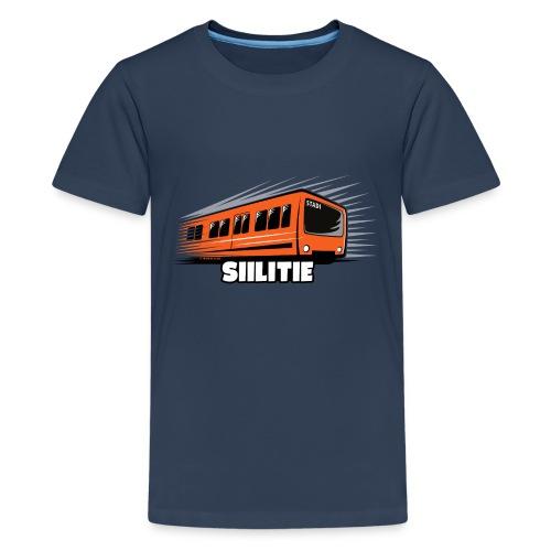 METRO SIILITIE, HELSINKI, Tekstiilit ja lahjat - Teinien premium t-paita