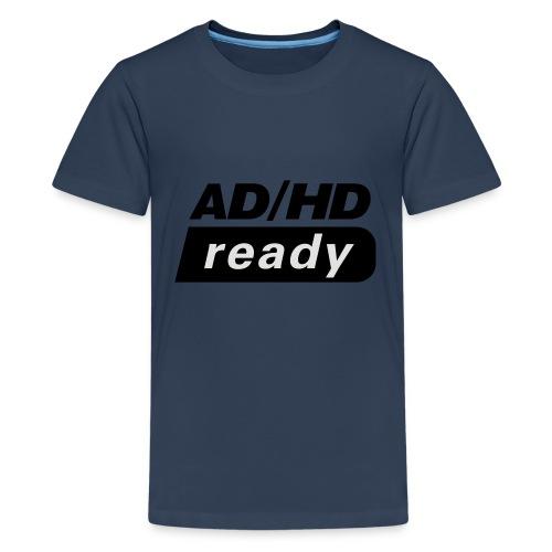 ADHD_READY - Premium T-skjorte for tenåringer