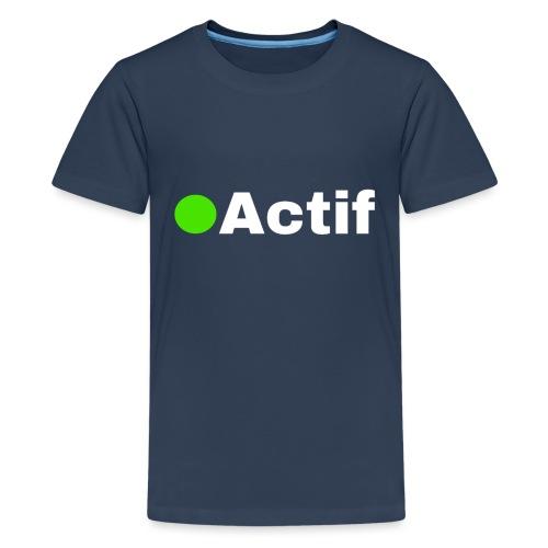 actif messenger - T-shirt Premium Ado