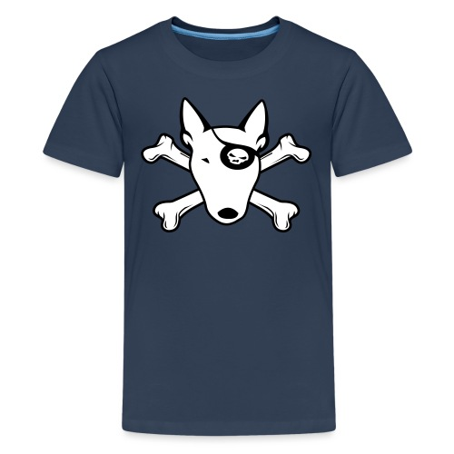 PIRATE Bullterrier - Teenager Premium T-Shirt