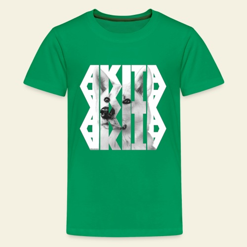 Akita NASSU V - Teinien premium t-paita