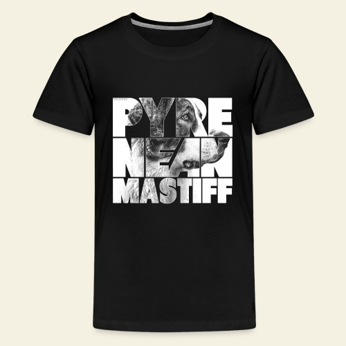 Pyrenean Mastiff N - Teinien premium t-paita