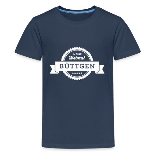 Büttgen 1 farbig - Teenager Premium T-Shirt