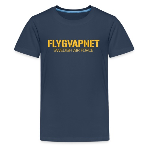 FLYGVAPNET - SWEDISH AIR FORCE - Premium-T-shirt tonåring