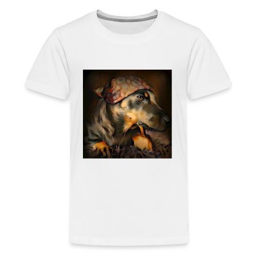 Biker Pinia - Teenager Premium T-Shirt