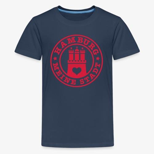 HAMBURG MEINE STADT Wappen 1c - Teenager Premium T-Shirt