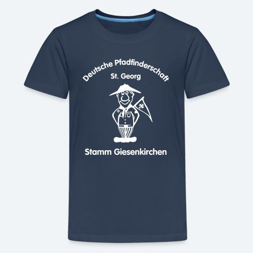 Logo_DPSG_Stamm_Giesenkir - Teenager Premium T-Shirt