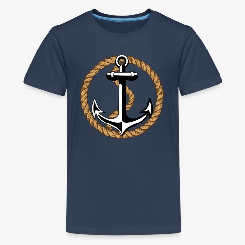 Anker Seil 65 - Teenager Premium T-Shirt