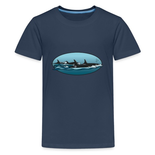 orka - Teenager Premium T-shirt
