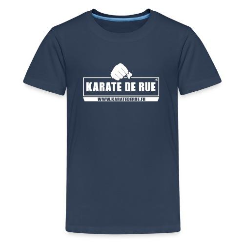KARATE DE RUE - T-shirt Premium Ado