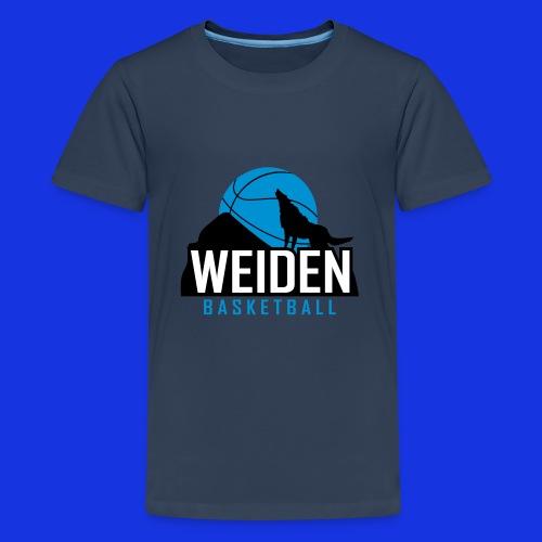 201301 logo tbweiden 3 - Teenager Premium T-Shirt