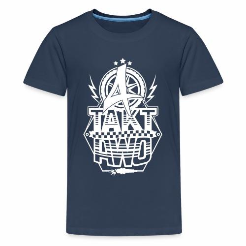 4-Takt-Awo / Viertaktawo - Teenage Premium T-Shirt