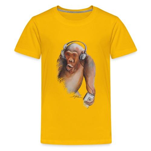 Singe old fashion - T-shirt Premium Ado