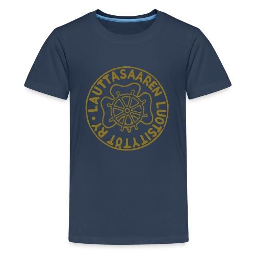 lltlogosimple - Teinien premium t-paita