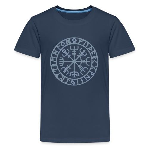 vegvisir Wegweiser Kompass Island Schutzsymbol - Teenager Premium T-Shirt