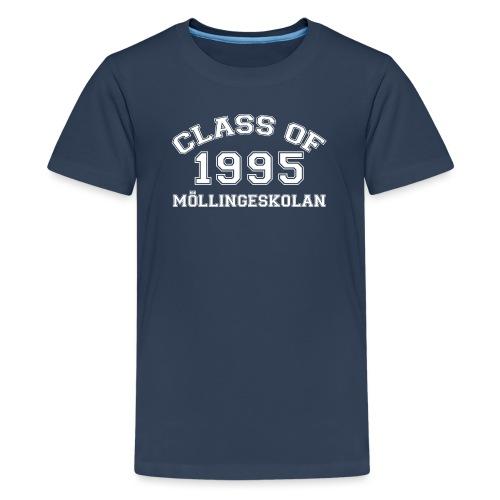 Class95Vit - Premium-T-shirt tonåring