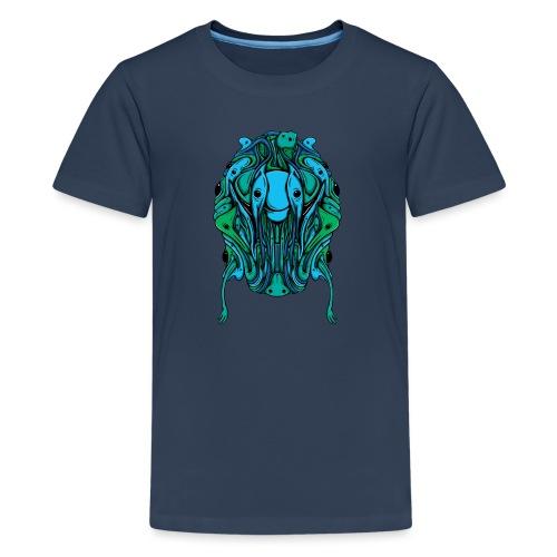 Blobcat Design - Teenage Premium T-Shirt