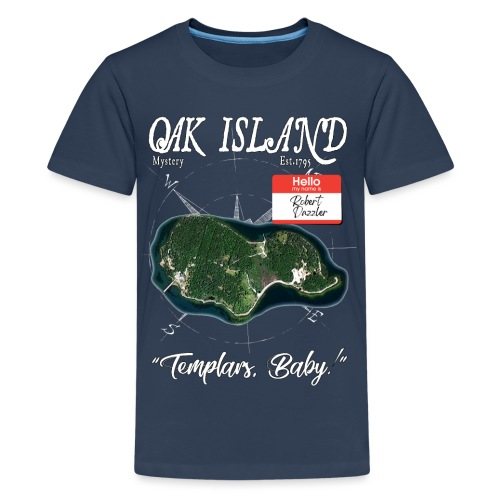 (The Curse of) OAK ISLAND Mystery Fan Merch - Premium T-skjorte for tenåringer