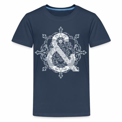 Escudo dark grey & ... - Camiseta premium adolescente