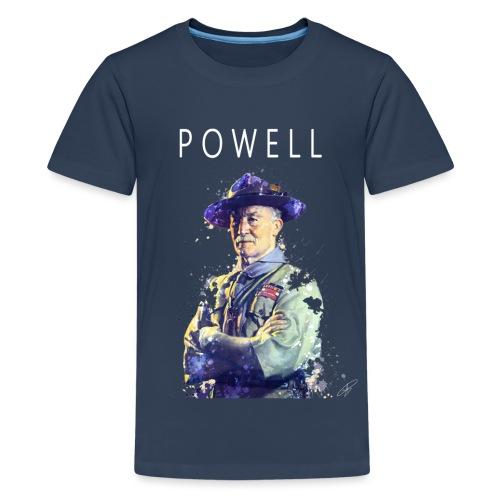 Powell -blanc- - T-shirt Premium Ado