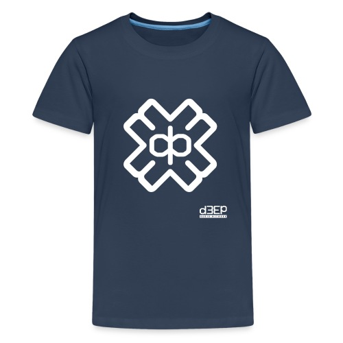 July D3EP Blue Tee - Teenage Premium T-Shirt