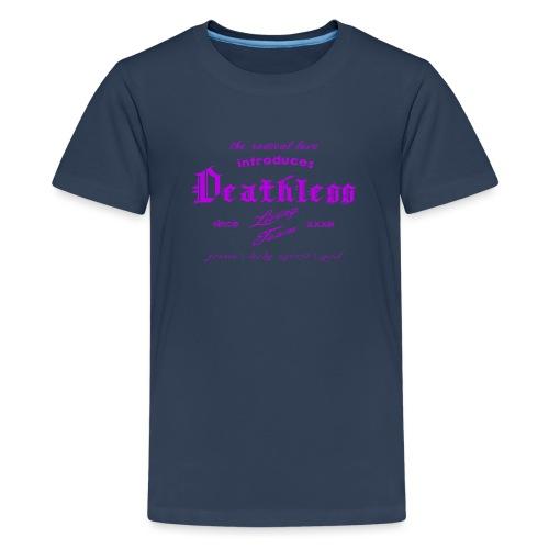 deathless living team violet - Teenager Premium T-Shirt