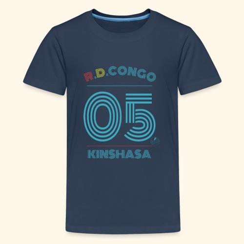 RD Congo/Kinshasa - Premium-T-shirt tonåring