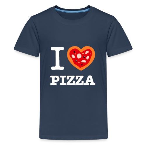 IlovePizza2 png - T-shirt Premium Ado