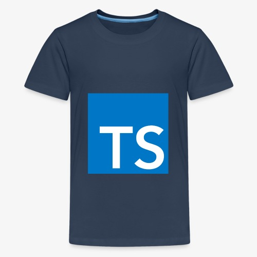 TypeScript Logo - Teenage Premium T-Shirt