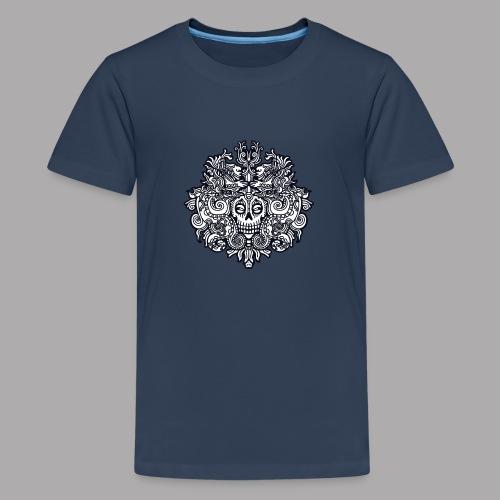 xibalba black - Teenage Premium T-Shirt