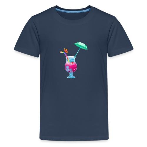 Cocktail estival - T-shirt Premium Ado