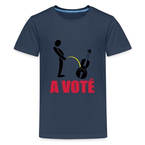 A voté - T-shirt Premium Ado