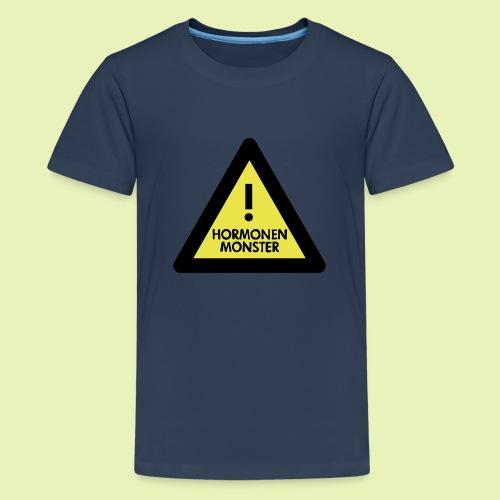 Hormonen monster ( zwanger ) - Teenager Premium T-shirt