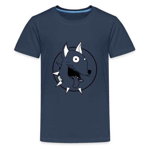 chien fou - T-shirt Premium Ado
