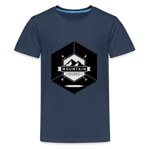 Mountain Dudes - Teenager Premium T-Shirt